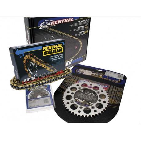 Kit chaine RENTHAL 520 type R3-2 13/50 Yamaha WRF 450 2012-18