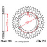Couronne JT alu type 210 pas 520 48 dents HONDA CRF-250 10