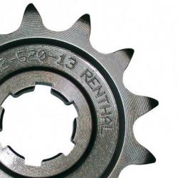 Pignon RENTHAL 13 dents acier standard pas 520 type 289 KAWAZAKI KX-250 2002-08