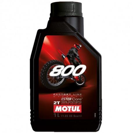 HUILE MOTUL MOTO 800 1L 2T MOTEUR