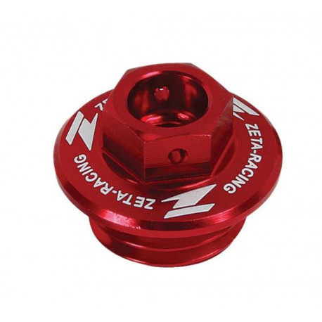 Bouchon de remplissage d'huile Zeta ROUGE SUZUKI RM RMZ 80-85-125-250-450 2001-18
