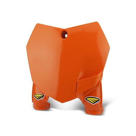 Plaque numéro frontale orange KTM SX 125 13/14