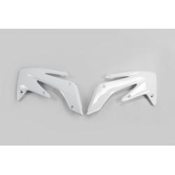 OUIES DE RADIATEURS UFO blanc Honda Crf 250 04/09