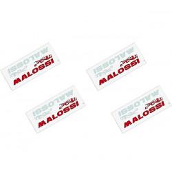 LOT 4 AUTOCOLLANTS MALOSSI 9.5X4.3cm