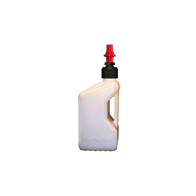 jerrican bidon d 39 essence tuff jug blanc 20 litres mx. Black Bedroom Furniture Sets. Home Design Ideas