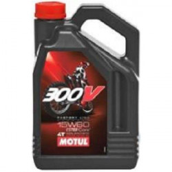 HUILE MOTEUR MOTUL 300V FACTORY LINE OFF ROAD 15W60 4T 100% SYNTHETIC 4 LITRES