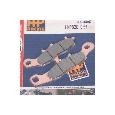 PLAQUETTES DE FREIN AVANT AP RACING LMP326ORR KAWASAKI KX 85 01/15