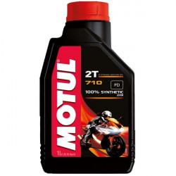 HUILE MOTEUR MOTO 2 TEMPS MOTUL 710 1L
