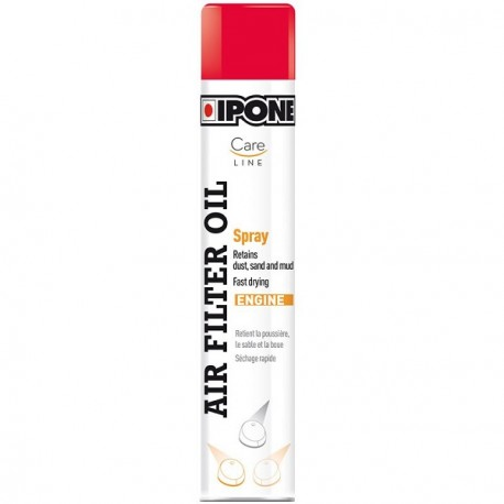 HUILE BOMBE FILTRE A AIR IPONE SPRAY FILTER OIL RACING 750ML MOTO